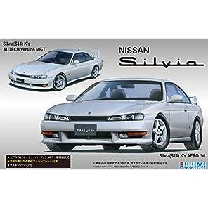フジミ模型 1/24 インチアップシリーズ No.84 ニッサン S14 シルビアK's エアロ'96/オーテックバージョン プラモデル ID84