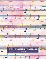 Music Manuscript Notebook 10 Stave (Music Manuscript Notebooks)