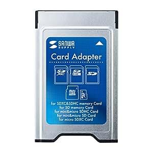 サンワサプライ SDカードアダプタ ADR-SD3