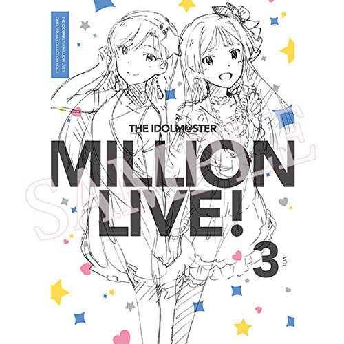 THE IDOLM@STER MILLION LIVE! CARD VISUAL COLLECTION VOL.3