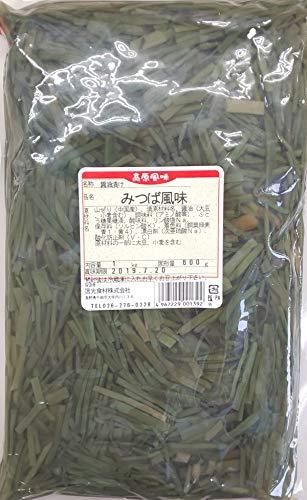 みつば風味 ( 醤油漬け ) 1kg ( 固形600g )×15P 業務用 山ぜり