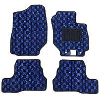 【フロアマット】 スズキ 新型 ジムニー ジムニーシエラ JB64W JB74W (マニュアル車専用) チェックシリーズ ブラック×ブルー (国内生産社外マット) JIMNY JIMNYSIERRA