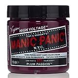 スペシャルセットMANIC PANICマニックパニック:PLUM PASSION (プラムパッション)+ヘアカラーケア4点セット