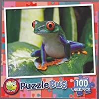 Puzzlebug 100 ~ Smiling Frog by LPf