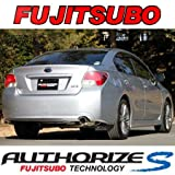 フジツボ ( FUJITSUBO ) マフラー【 オーソライズ S 】スバル インプレッサ G4 1.6L / 2.0L 4WD GJ系 350-63091