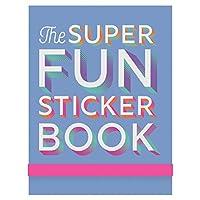 Eccolo Funステッカーブックパッド、かわいいアートと楽しいことわざ、5x 7インチ Q603D