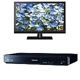 パナソニック 24V型 ハイビジョン 液晶 テレビ VIERA TH-24D325 + ブルーレイプレーヤー 4Kアップコンバート対応 DMP-BDT180-K セット