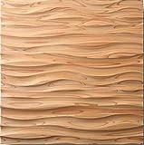 朝日ウッドテック クールジャパン スクエア 杉 無塗装 ソフト・ウェーブ IFKW1P0S36 1Pの写真
