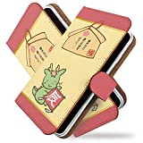 AQUOS Xx 304SH ケース 手帳型 辰年 赤 十二支 りゅう 手帳 カバー アクオス AQUOSXxケース AQUOSXxカバー 手帳型ケース 手帳型カバー 動物 アニマル [辰年 赤/t0006]
