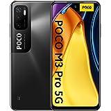 "Poco M3 PRO 5G + 4G Volte Global Unlocked GSM 6.5"" Octa Core 48mp Triple Camera (Not Verizon/Boost/CDMA) (Power Black, 64GB+4"