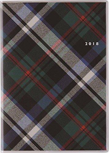 高橋 手帳 2018年 1月始まり マンスリー クレール インデックス4 B6 No.387