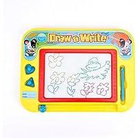 子供の磁気図面ボード、グラフィティ消去可能スケッチパッド教育玩具、子供旅行サイズ