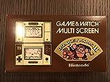 任天堂 Nintendo JR-55 ドンキーコングII(ドンキーコング2/DONKEY KONGII)GAME&WATCH ゲーム&ウォッチ(ゲームウォッチ)マルチスクリーン