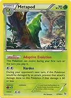Pokemon - Metapod (2) - XY Flashfire - Reverse Holo