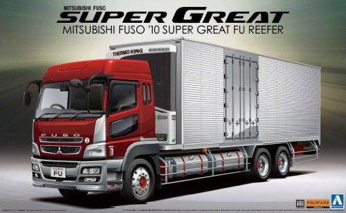 アオシマ文化教材社 1/32 ヘビーフレイト No.12 三菱ふそう '10 スーパーグレートFU 冷凍車