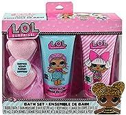 LOL Surprise Bath Set in Box (1 Bubble Bath, Body wash, 2 Bombs)