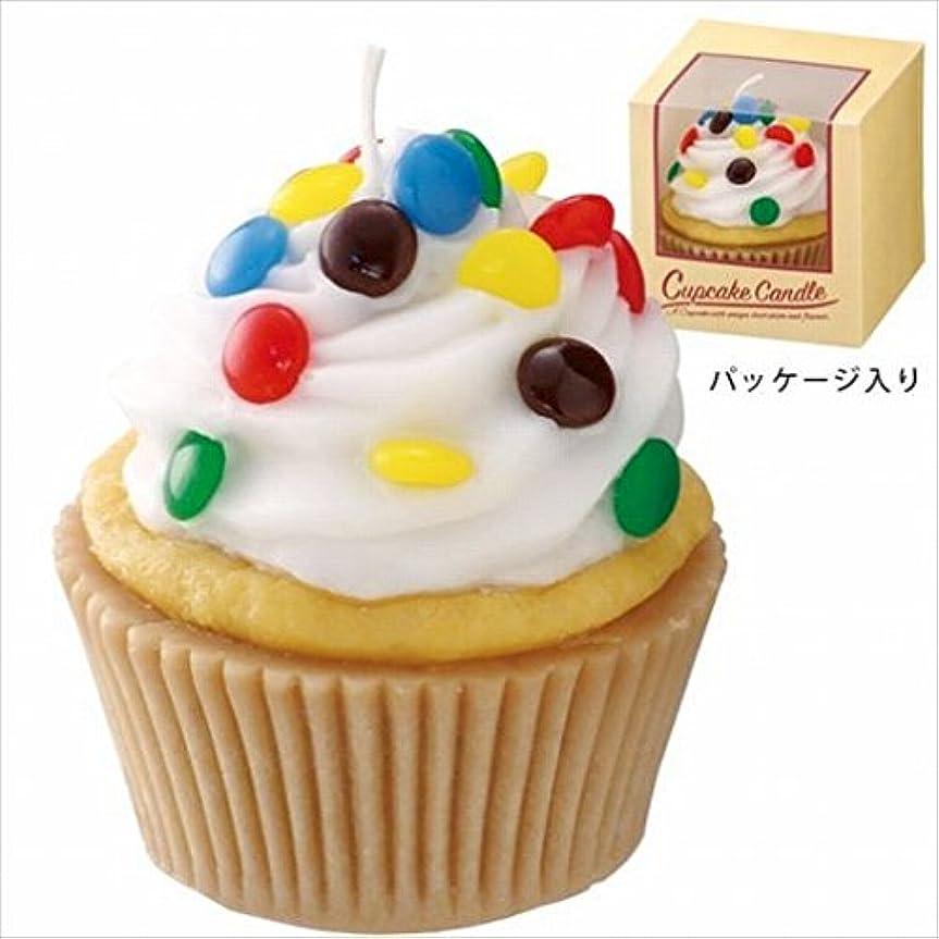 最終的に説得篭カメヤマキャンドル(kameyama candle) アメリカンカップケーキキャンドル 「 ホワイトクリーム 」