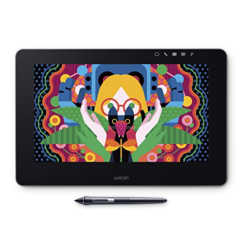 Wacom Cintiq Pro 13 drawing tablet with screen 13.3 inch Full HD drawing tablet with screen Wacom propen 2 included Mac compatible with Windows DTH-1320/K0