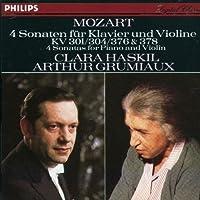 Mozart: 4 Sonatas for Piano and Violin, K. 301 / 304 / 376 & 378 (2002-11-20)