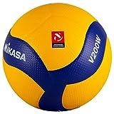 ミカサ バレー5号 国際公認球 黄/青 V200W