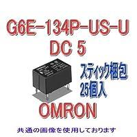 オムロン(OMRON) G6E-134P-US-U DC5 (25個入) マイクロリレー NN
