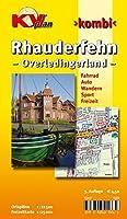 Rhauderfehn und das Overledingerland: Ortsplaene 1 : 12 500. Freitzeitkarte 1 : 25 000. Fahrrad. Auto. Wandern. Sport. Freizeit