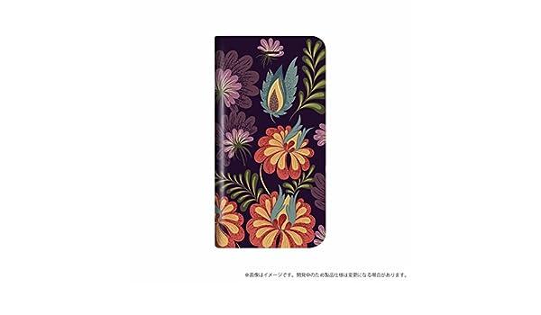 da7d2a5fd6 Amazon | iPhone 8 Plus/7 Plus 薄型デザインPUレザーケース「Design+」 Flower アート | ケース・カバー  通販