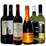 【厳選ヴィネクシオセレクト】名産地4カ国飲み比べ!金賞受賞フランス イタリア チリ スペイン ワイン ワインセット 赤ワイン3本 白ワイン2本スパークリング1本 750ml×6本