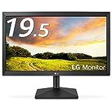 LG モニター ディスプレイ 20MK400H-B 19.5インチ/WXGA(1366x768)/TN 非光沢/HDMI端子付/DASモード搭載/ブルーライト低減機能