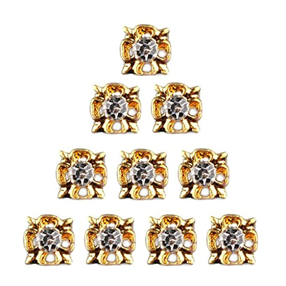 ハウジング第二縁石ネイルアート ダイヤモンド ネイルデザイン 3D ヒントステッカー ネイルデコレーション 全8種類 - 4