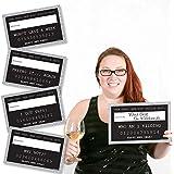 シルバーNew Year 's Eve Party Mug Shots – 新しい年の解像度写真ブース小道具パーティーMug Shots – 20カウント
