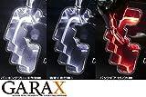 GARAX ギャラクス 【50系エスティマ1型/2型/3型】 LEDシフトゲートイルミネーション [クリア] ES5-SGI-W-S