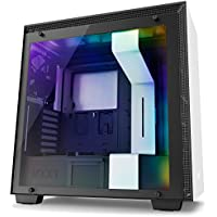 NZXT h700i mid-towerコンピュータケースホワイト/ブラックca-h700 W-wb