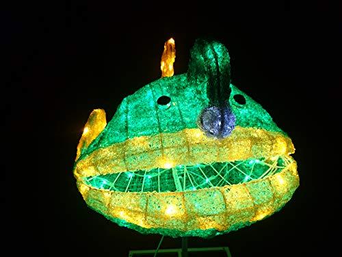 ドリームチャンネル イルミネーション 海の生き物 アンコウ 提灯あんこう ビッグサイズ イベント スタンド付