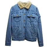(ティーシーエスエス) TCSS ボアデニムジャケット LOS CAPTAIN BOA DENIM JACKET ブルー S アウター ボアジャケット BLUE 青