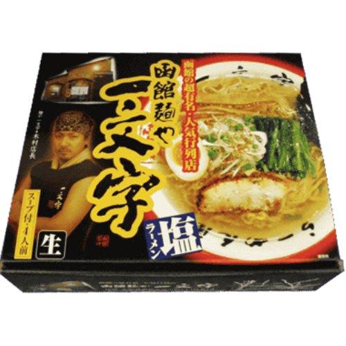 アイランド食品 箱入函館ラーメン一文字 4食