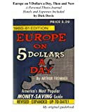 Europe on 5 Dollars a Day, Then and Now (English Edition)