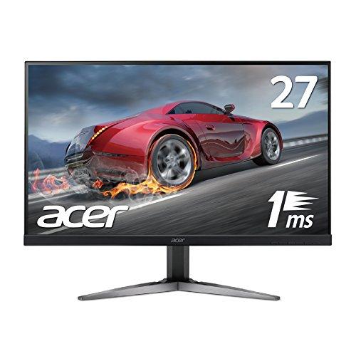 【Amazon.co.jp限定】Acer ゲーミングモニター ディスプレイ KG271Ubmiippx 27インチ/TN/非光沢/WQHD/1ms/75Hz/ゲーミング