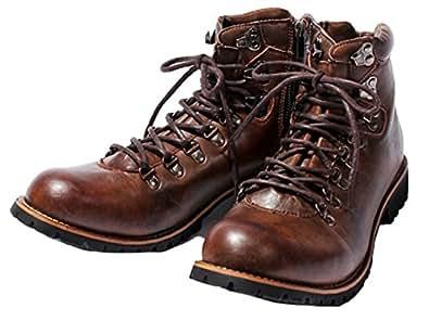 (エイト) 8(eight)マウンテンブーツショートワークブーツ革 25.0cm ブラウン