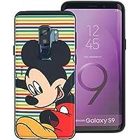 5589a0c6d5 Galaxy S9 ケース/Disney Mickey Mouse ディズニー ミッキーマウス ダブル バンパー ケース/二層構造 TPUケース +  PCカバー/デュアルレイヤー 耐衝撃 薄型 衝撃吸収 ...