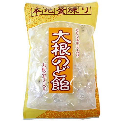 ダイドー製菓 大根のど飴 大根エキス かりんエキス入り 200g