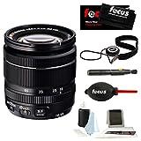 Fujifilm XF 18–55mm f / 2.8–4R LM OISコンパクトズームレンズ(ブラック) for Xシリーズミラーレスカメラ+フォーカスフォトA