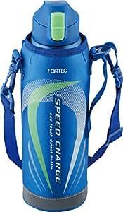 和平フレイズ 直飲み 水筒 1.0L ワンタッチ スポーツボトル ブルー フォルテック・スピード FSR-7371
