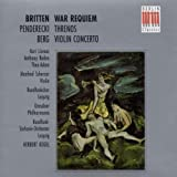 War Requiem, Threnos, Violin Concerto 画像