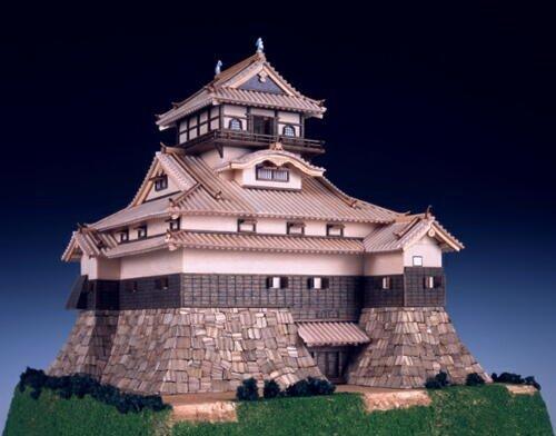 木製日本建築模型 1/150【犬山城】