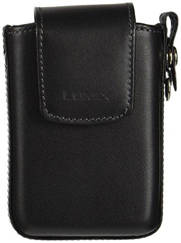 Panasonic デジタルカメラケース LUMIX 0.3L FX30用 本革ケース (ストラップ付) ブラック DMW-CX30-K
