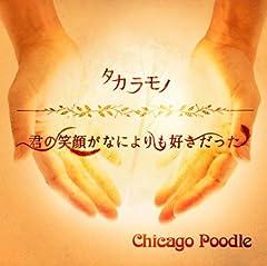 Chicago Poodle「君の笑顔がなによりも好きだった」のCDジャケット