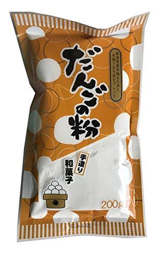 角屋米穀 新潟県産 だんご粉 200g×5個