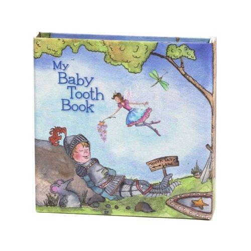 ベビートゥースアルバム Baby Tooth Book-Blue 乳歯ケースブック Blue bta0004-01 【ラメ入り】