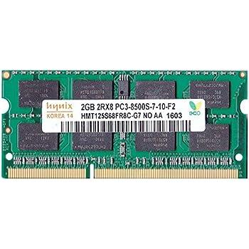 Hynix純正 PC3-8500(DDR3-1066) SO-DIMM 2GB ノートPC用メモリ